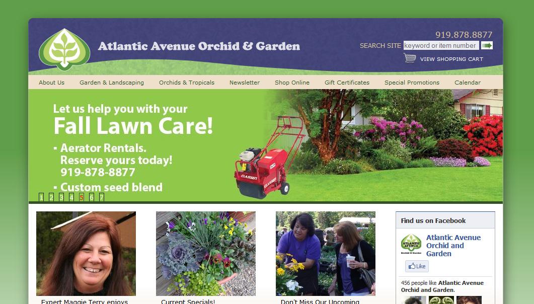 Atlantic Avenue Orchid And Garden Sleek Web Studio